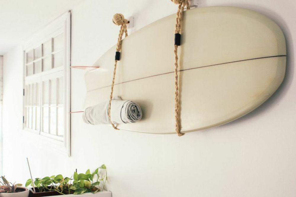 waiting for saturday : jessica barensfeld surf board
