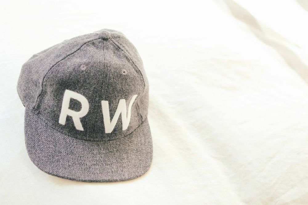 waiting for saturday : rachael wang fairends monogrammed flannel baseball cap