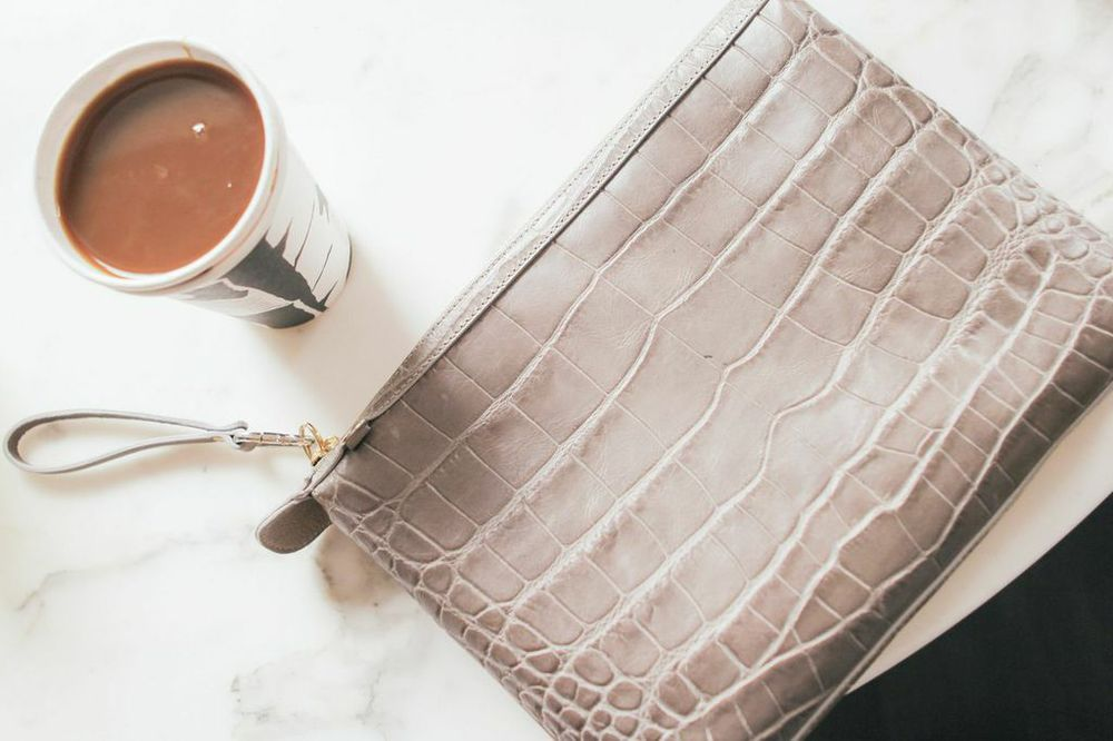 waiting for saturday : little liffner clutch