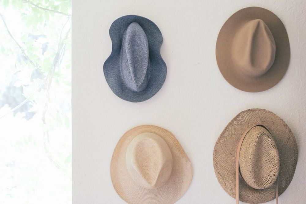 waiting for saturday : andria crescioni home hats
