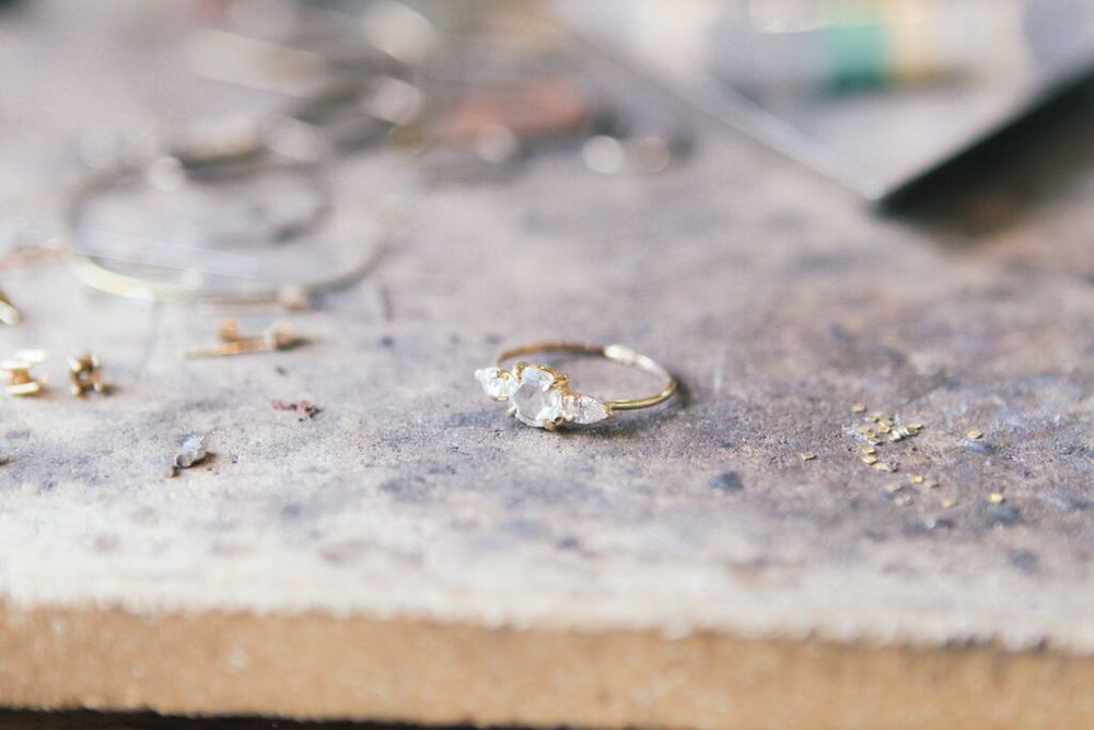 waiting for saturday : catbird engagement ring