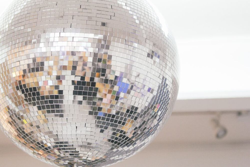 waiting for saturday : disco ball catbird