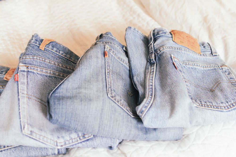 waiting for saturday : vintage levi's 501s