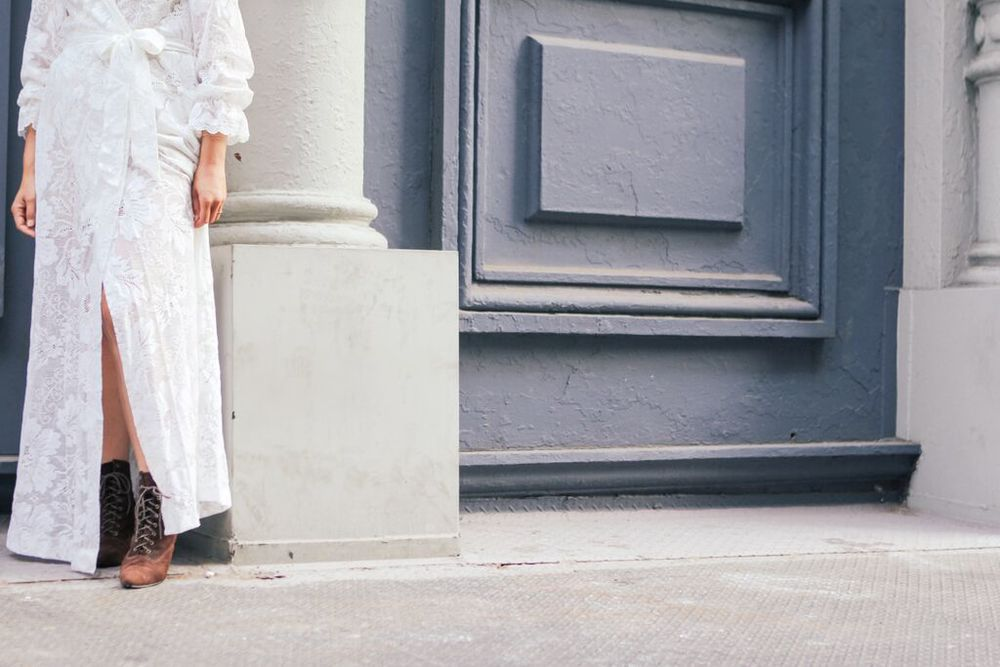 waiting for saturday : rachael wang vintage dior dressing gown