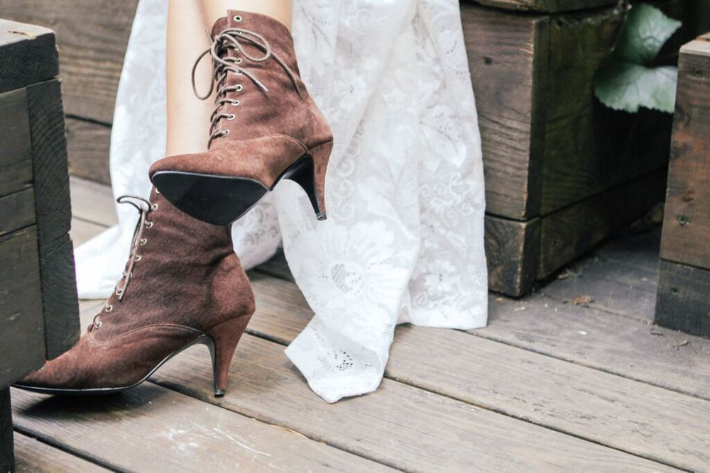 waiting for saturday : rachael wang vintage boots