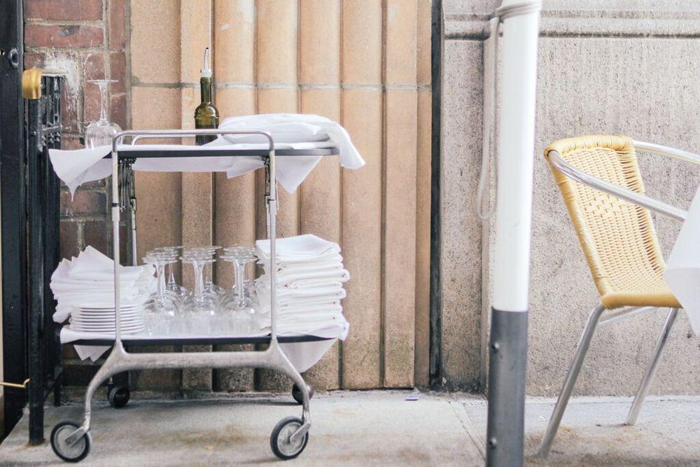 waiting for saturday : novita restaurant fashion week flatiron lunch spot