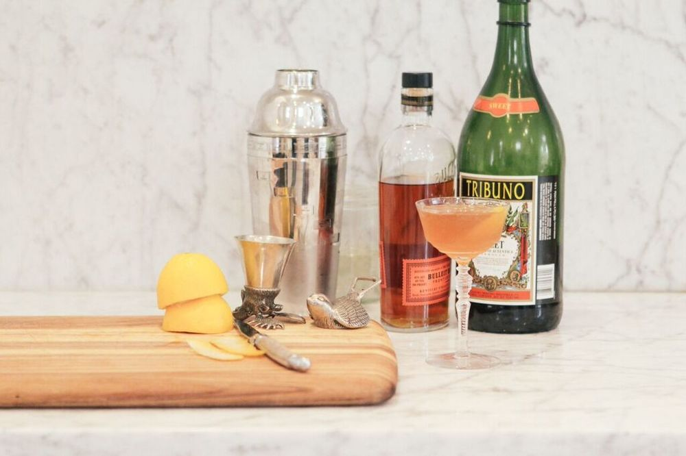 the best bourbon winter cocktail c/o melissa ventosa martin