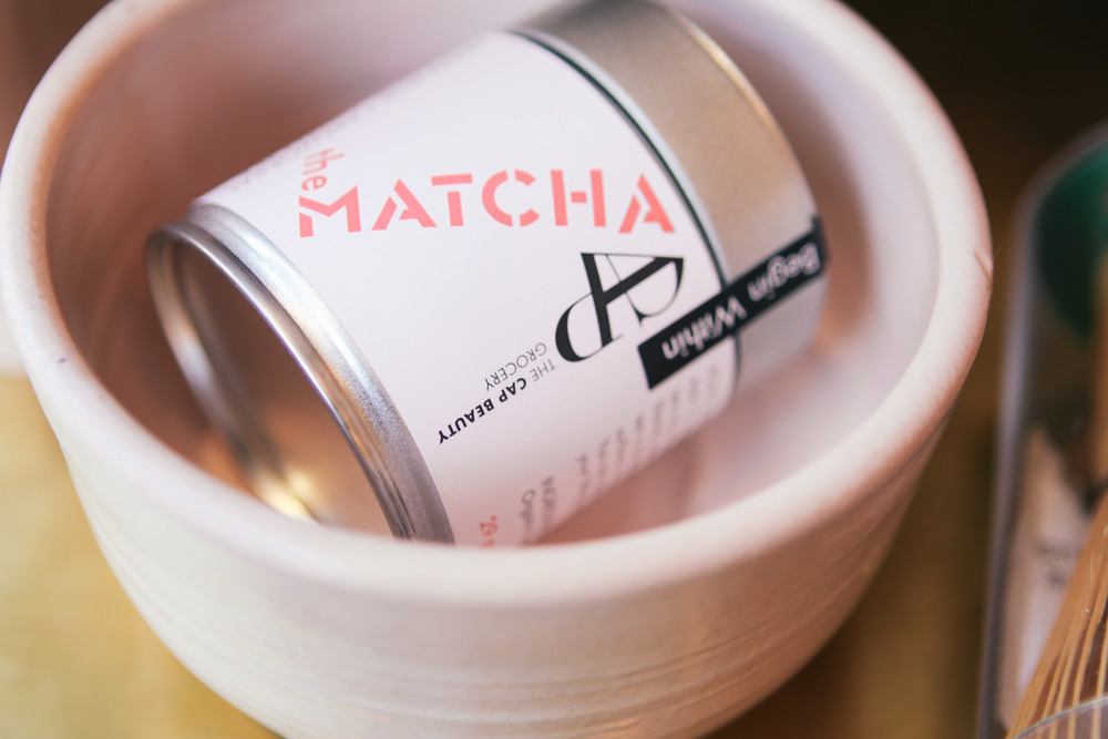 waiting for saturday: CAP matcha