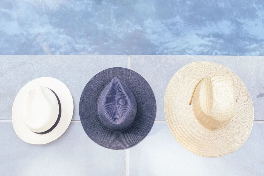 waiting for saturday : sun hats