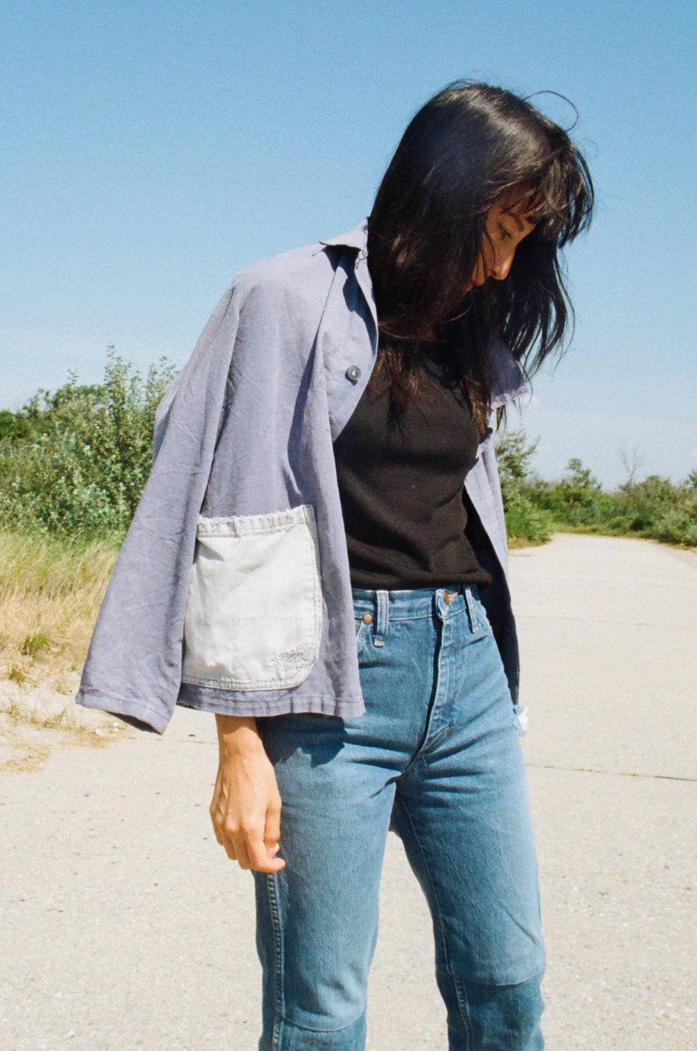 from jncos to levi's: writer lisa przystup on her long-standing love affair with blue jeans