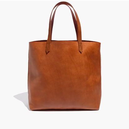 This tote is ubiquitous in Brooklyn in the very best way—it truly is the perfect city bag. The shoulder drape is perfect, you can even get it over a decently large winter coat. And you can cram the contents of your life inside (though in the spirit of Kondo, try not to). - Coco + Olivia