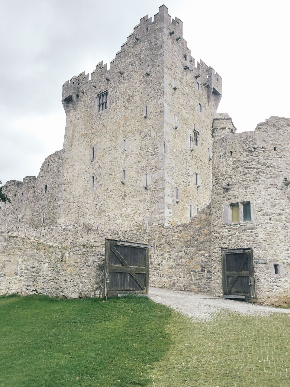 Ross Castle, Killarney in Kerry