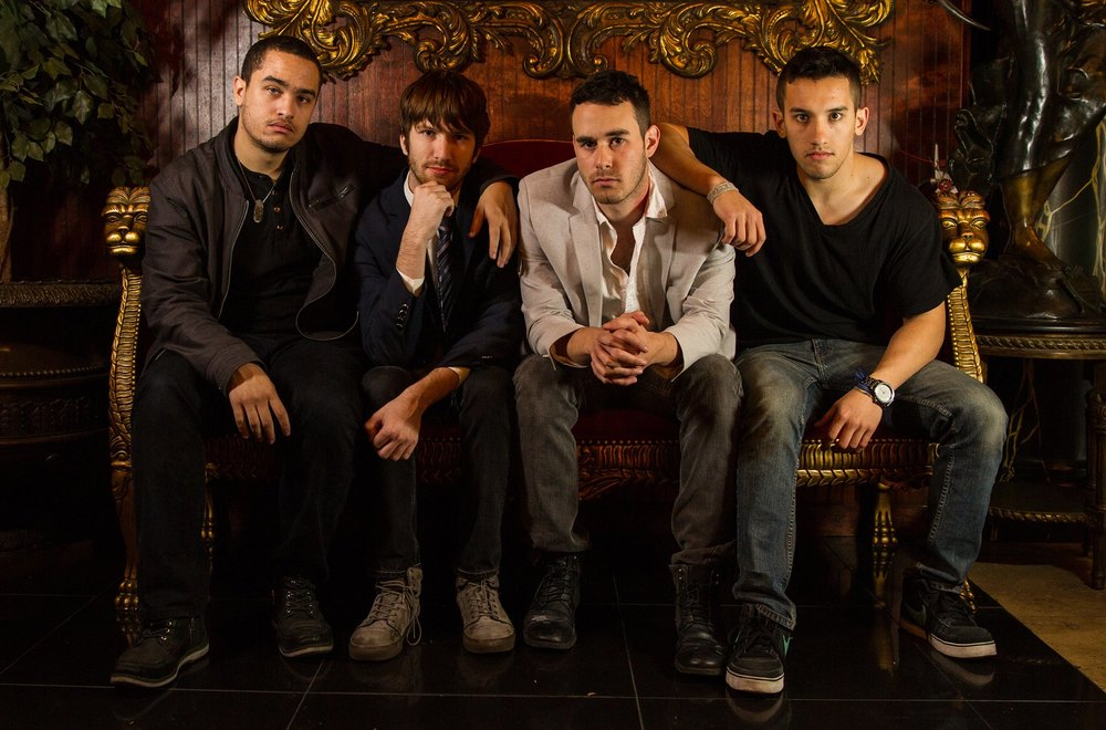 Walk Off Hits is a pop/rock band that consists of  Ross LaMarca- Vocals, Lead Guitar, Spencer Sasarita-Drums, Backing Vocals, Rion Rogers-Keyboards, Backing Vocals, and  Will Bauer-Bass, Backing Vocals.  http://www.walkoffhits.com