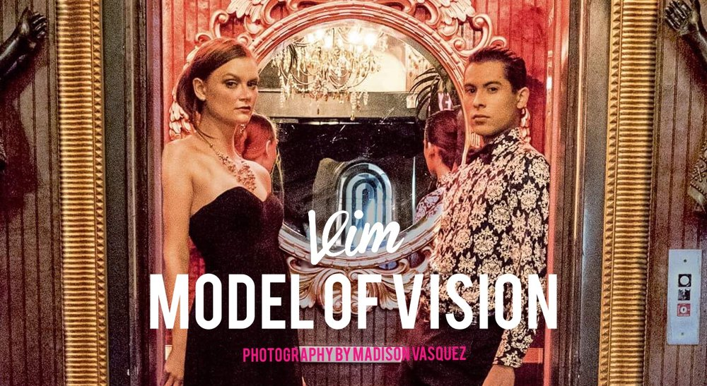 Introducing VIM's Models of Vision for 2017: Melisha Landreth and Jesse Garcia. Photography by VIM Creative Director Madison Vasquez.