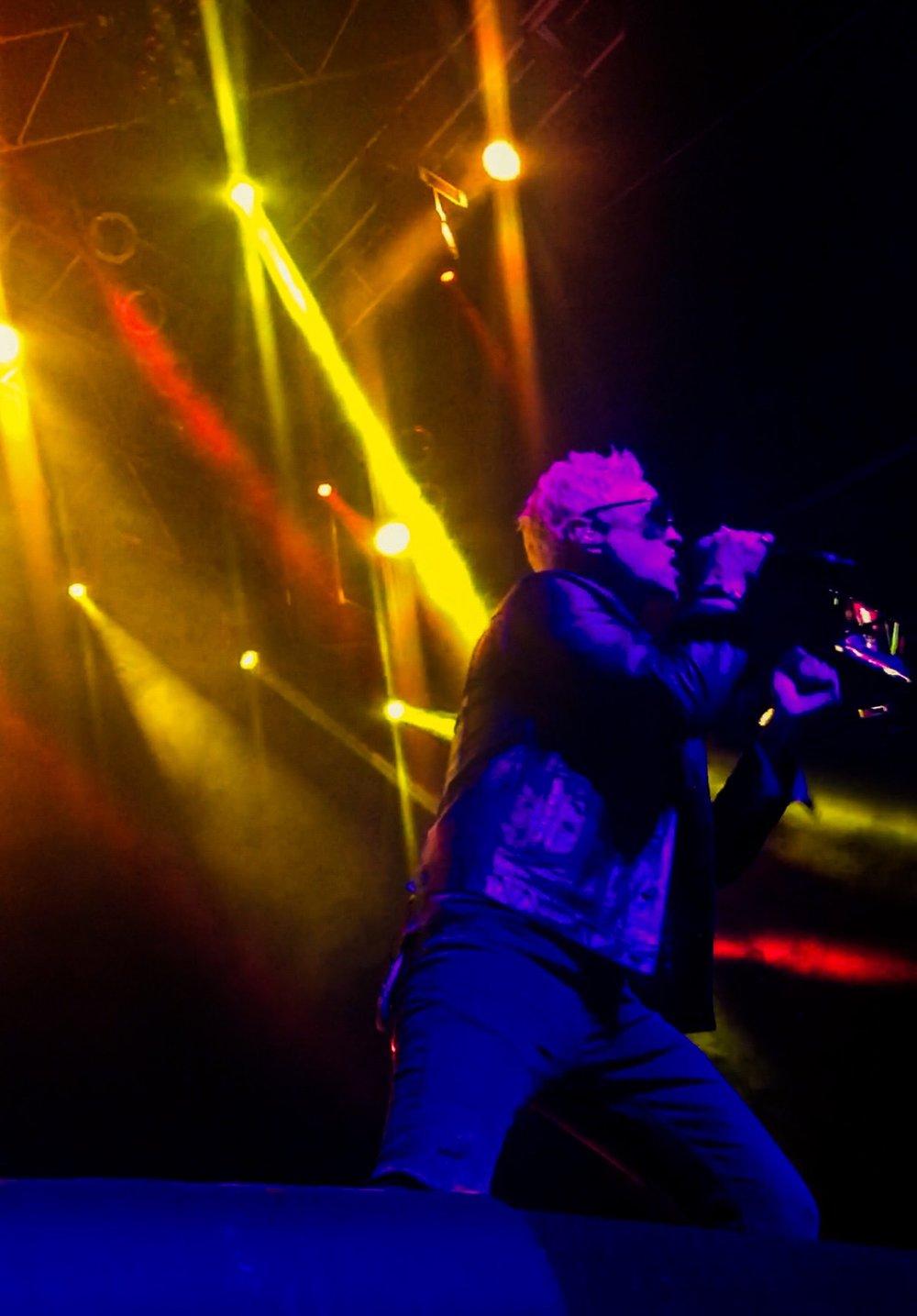 STP Lead Singer Jeff Gutt by Jorge Lara