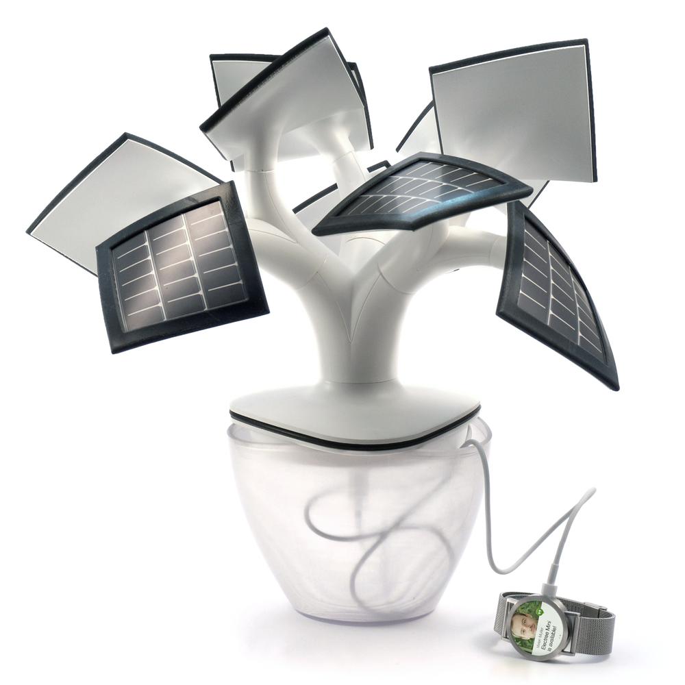 Electree mini recharge votre monde connectée grâce à l'énergie solaire