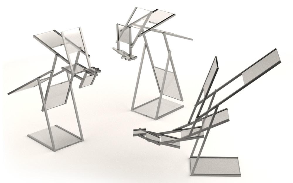 Aequo, la lampe équilibre par Vivien Muller