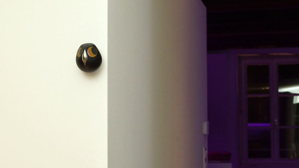 Ulo follows your movements with its eyes