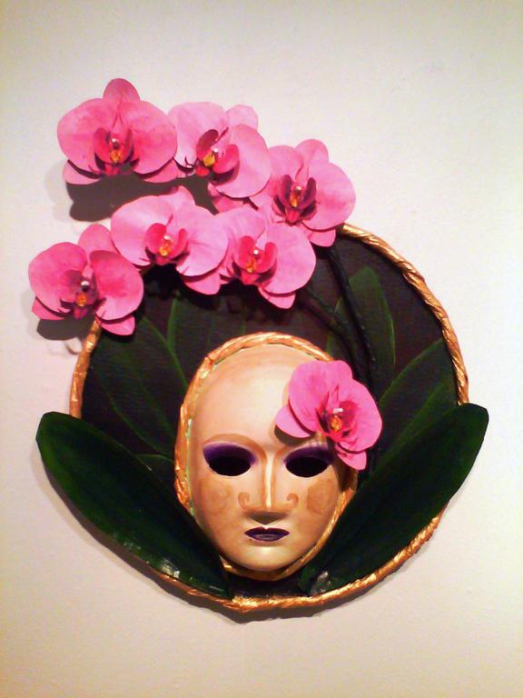 Mask 1 - Phalaenopsis