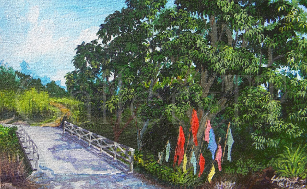 Caroni Flag Bridge 10 x 16 -Samantha Rochard.png