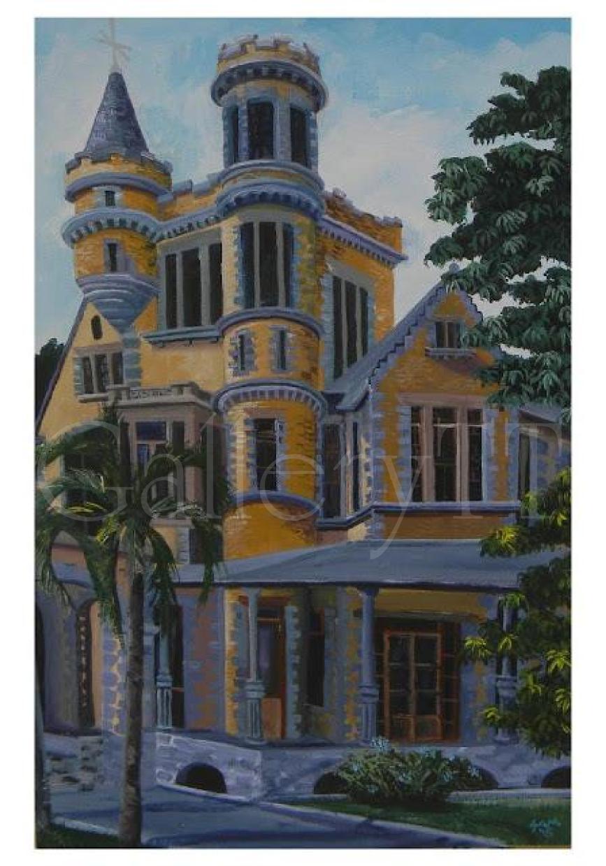 Stollmeyer's Castle 2 16 x 24 Acrylic- Samantha Rochard.png