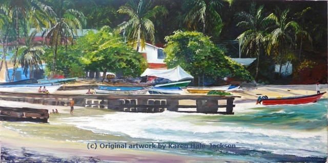 Maracas Fishing Village