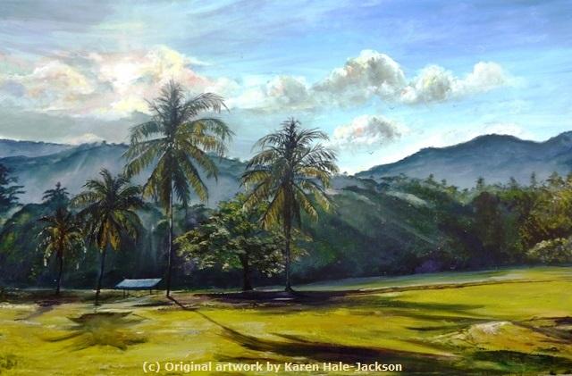 Sunrish at Chaguaramas