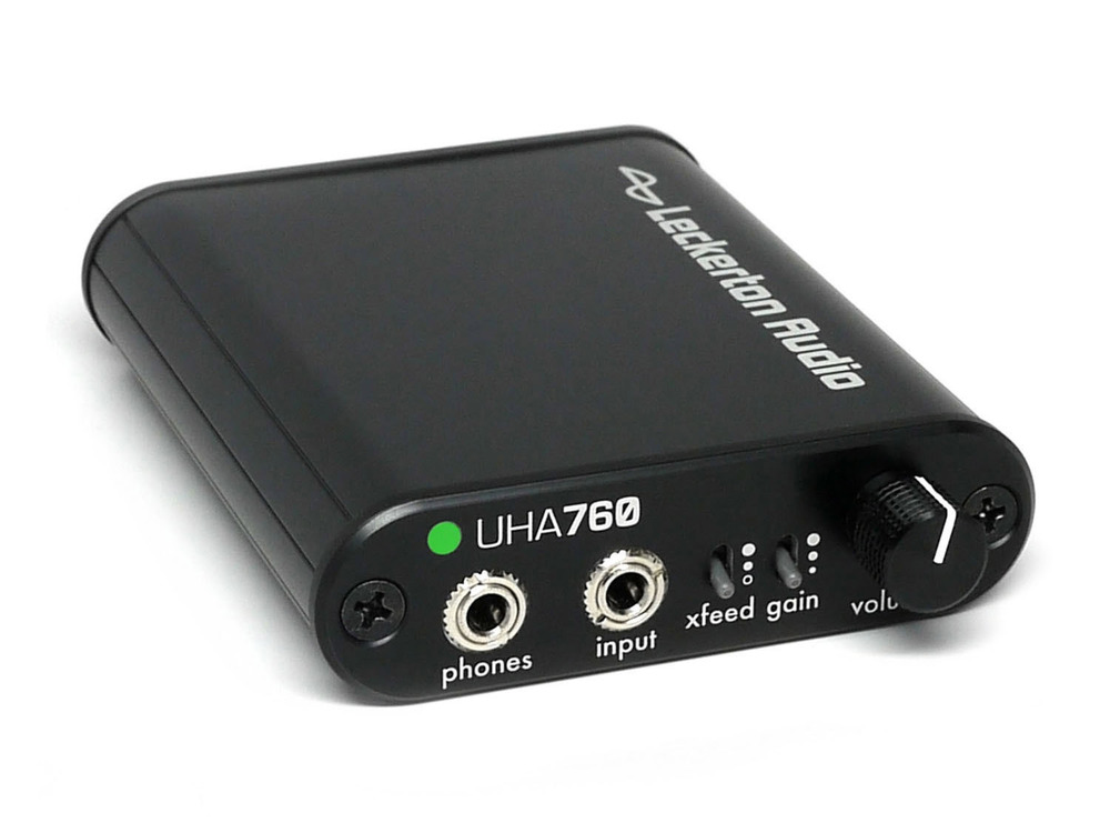 UHA760 Advanced Asynchronous USB DAC/Amp with Digital Volume Control and Crossfeed