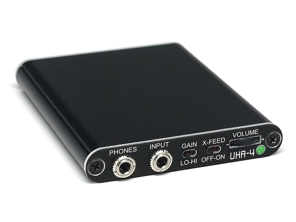 UHA-4 USB DAC/Amp in Slimline Case with Digital Volume Control and Crossfeed