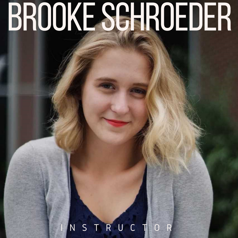 Brooke Schroeder  was born and raised in Stevens Point WI, is currently a sophomore at the University of Wisconsin Madison. she is pursuing a Bachelor of Science degree in dance and a certificate in Pilates. Dancing since the age of 3 she has trained in ballet, modern, jazz, tap, and pointe. As a dancer, Brooke has performed in Stevens Point (WI), Milwaukee (WI), Madison (WI), Chicago (IL), Steamboat Springs (CO), and Winter Garden (FL). This is Brooke's first year on the Performing Ourselves team, she looks forward to getting more involved in the community and empowering Madison area youth through movement!