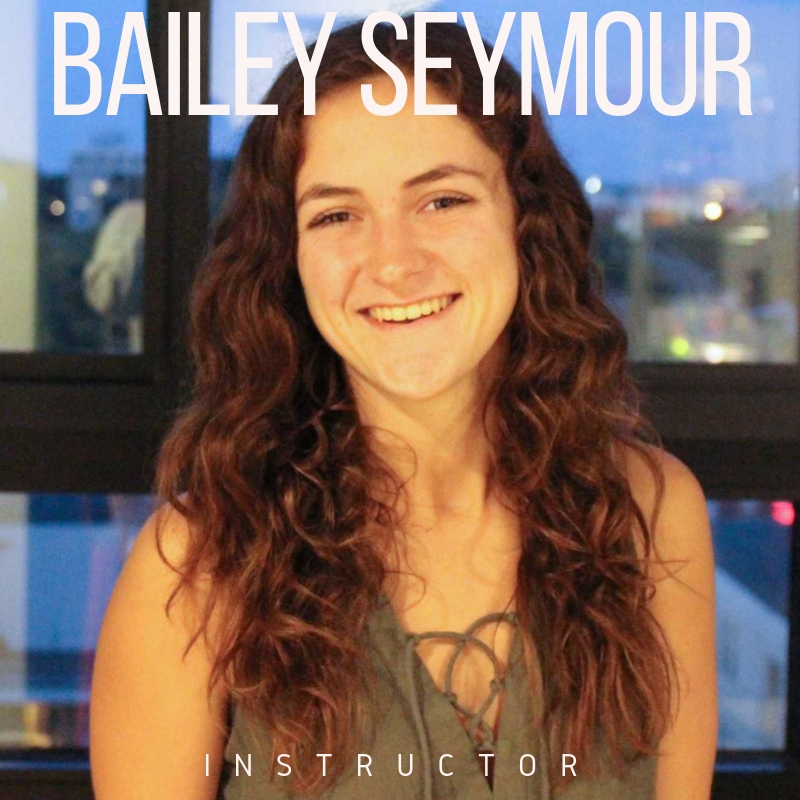 Bailey Seymour  Raised in Winnetka, IL is currently a Junior at the University of Wisconsin- Madison, pursuing a BFA in Dance as well as certificates in Dance Movement Therapy, and Education & Educational Services. While at UW she has worked with Professor Collette Stewart, as well as guest artists, Carol Teitelbaum, Rosalind Newman, and Jamie McHugh. Bailey has received scholarships to study at Perry Mansfield (Steamboat Springs, CO) as well as Bates Dance Festival (Lewiston, MA). Through the combination of her certificates and major Bailey is interested in the ways that Dance, Education, and Dance Movement Therapy can combine and support one another. Bailey is excited for her first year as a part of the Performing Ourselves team!