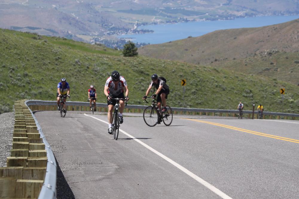 Climbing McNeil Canyon