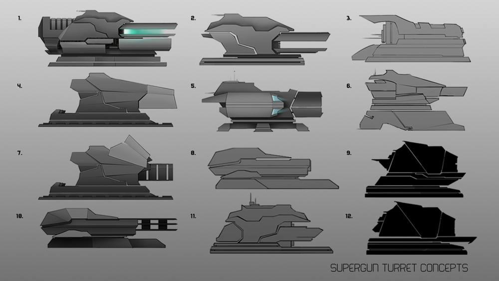 Like Concept Art, Game Designs Go Through Dozens of Iterations Art by Joey Goodlow