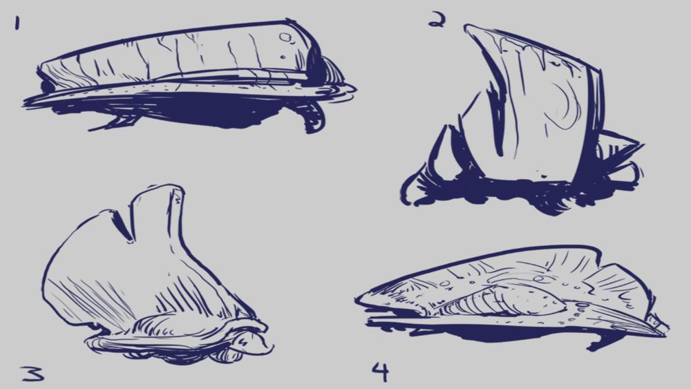 Step 1: Initial Bertha Concepts