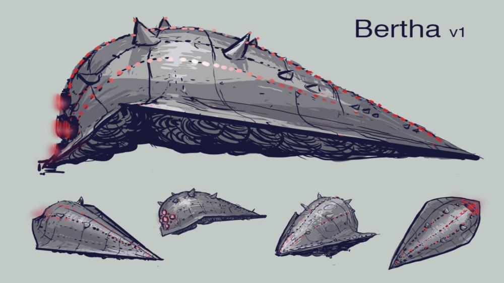 Step 3: Bertha Loose Concept