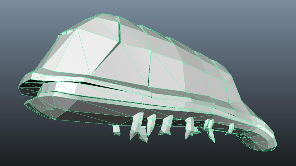 Step 6: Bertha Blockout Model