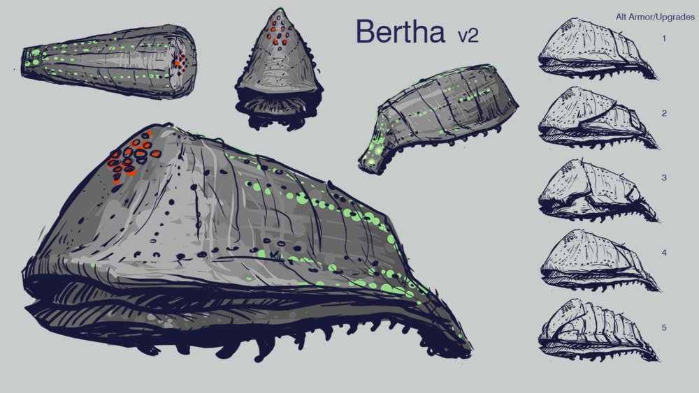 Step 4: Tight Bertha Concept