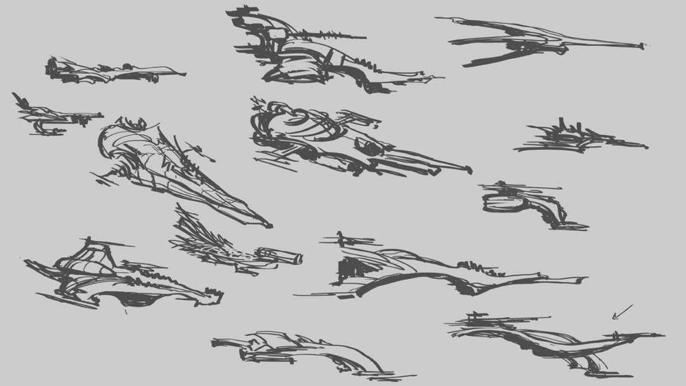 Step 1: Initial Reaper Concepts