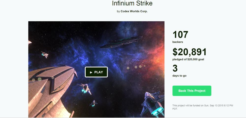 Kickstarter Campaign: Thursday, September 10.