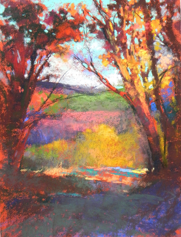 "Autumn Light  12"" x 9"""