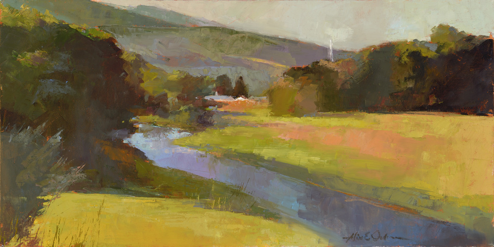 """Up River   18"""" x 36"""""""
