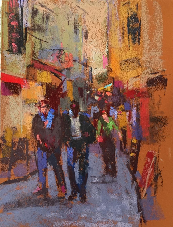 Paris Street  9 x 12