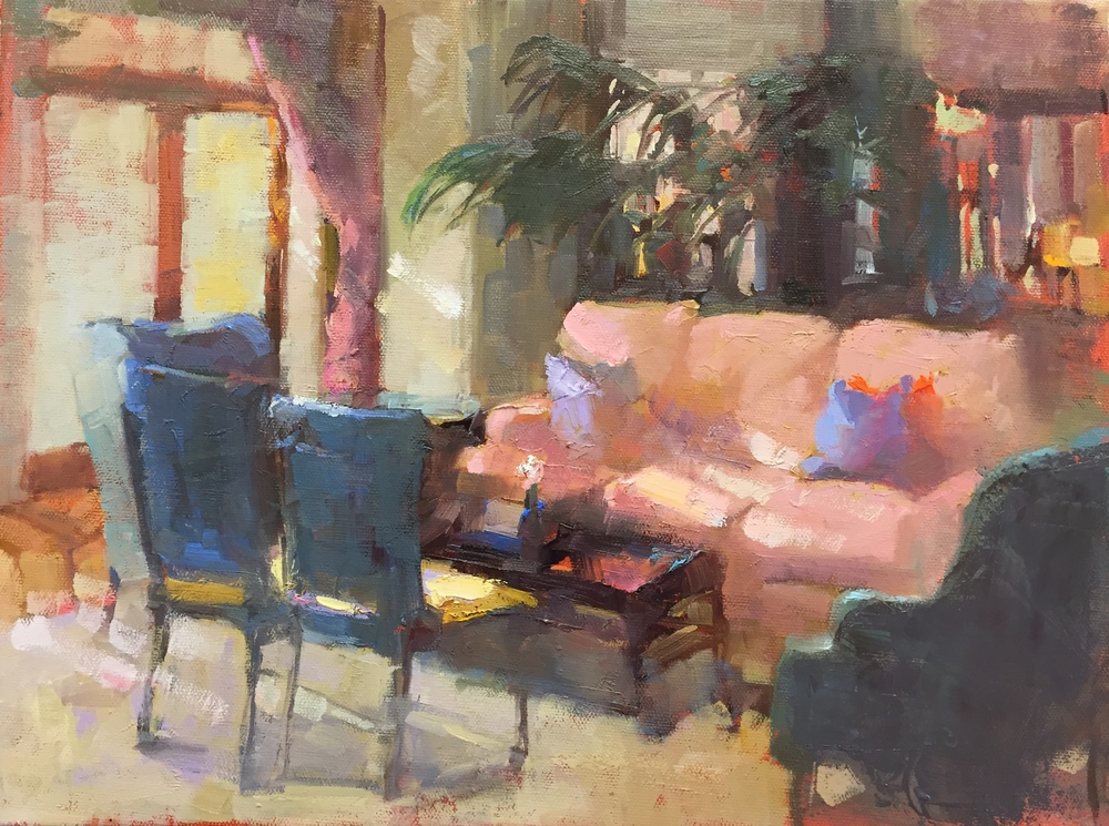 The Sanctuary Kiawah  12 x 16 oil