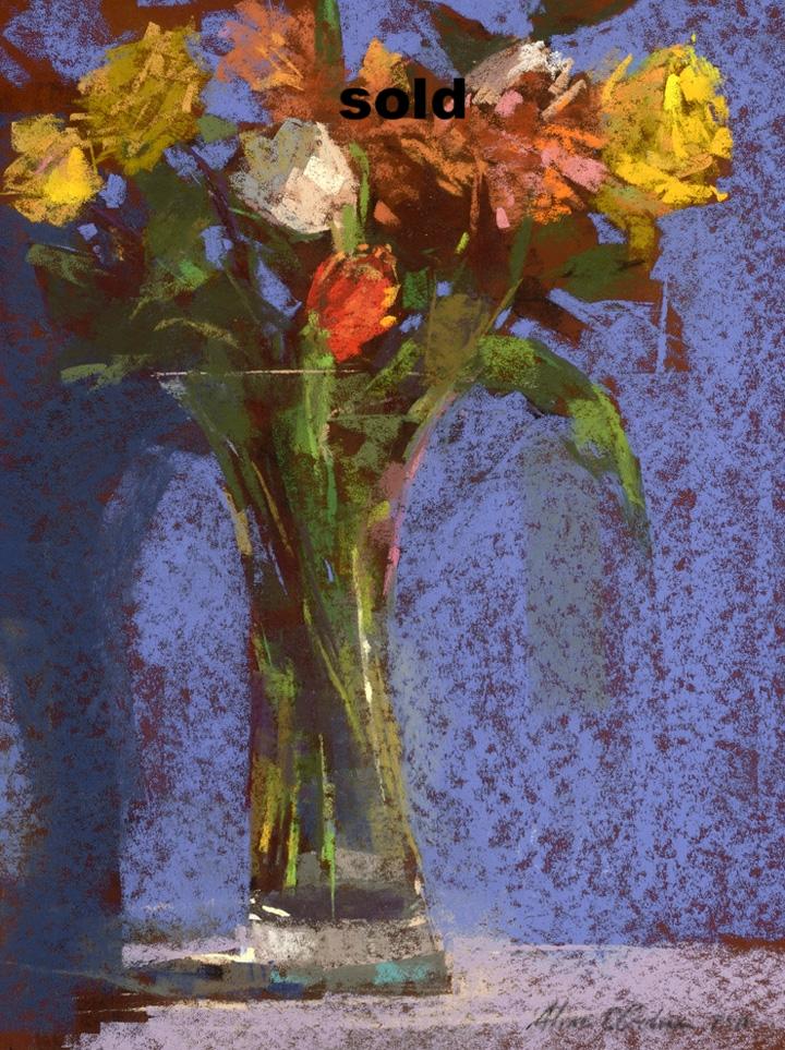 Glass Vase  16 x 20  sold