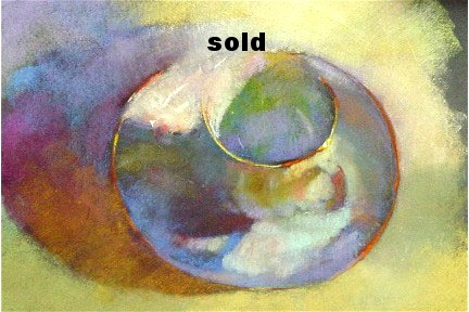 "Teacup   Pastel  9"" x 12"" SOLD"