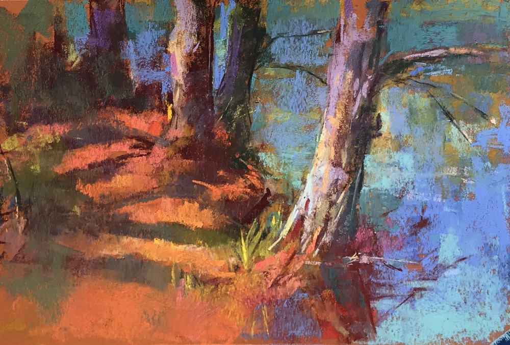 Adirondack Trees   9 x 12