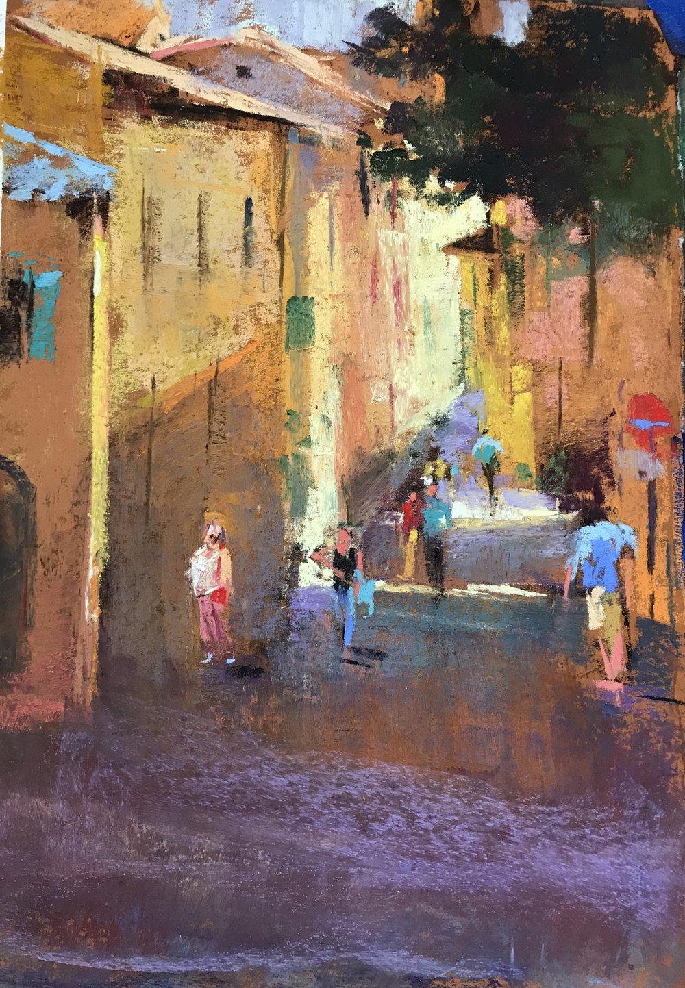 Street Scene Italy