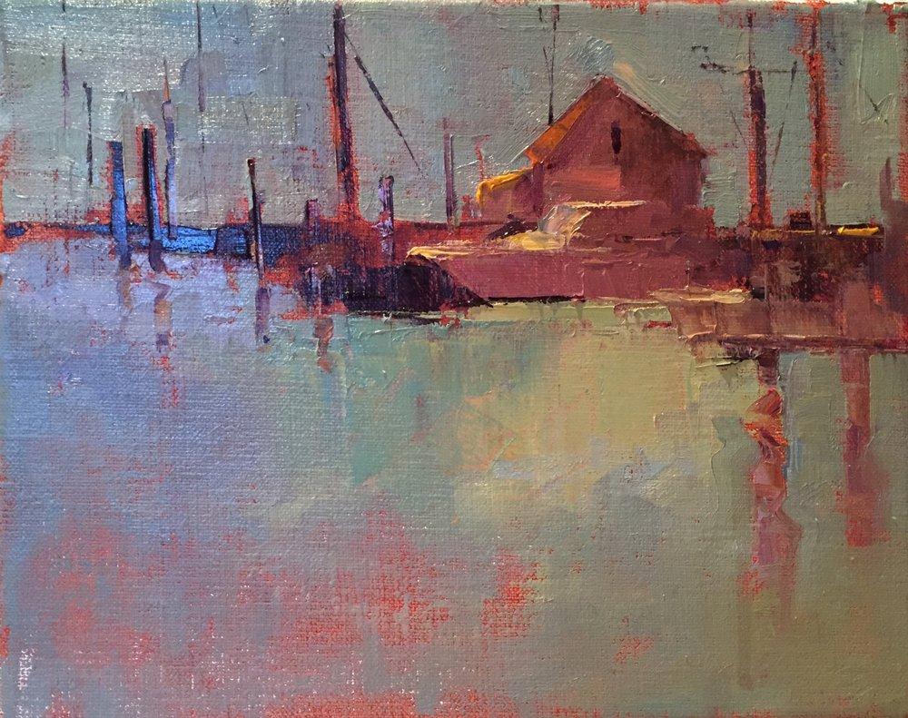 Hyannis Boat  o/b 8 x 10