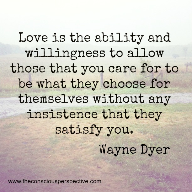 Wayne Dyer Quotes On Love