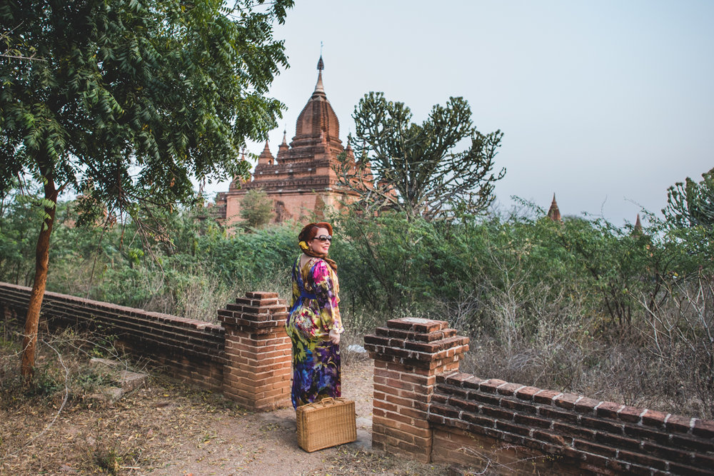 Captured in Bagan for Flytographer